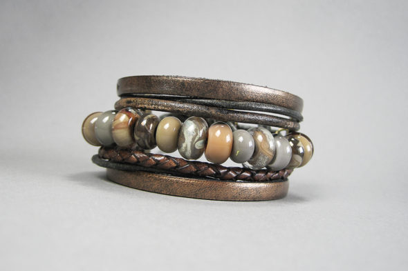 Armband   №103 in Naturfarben
