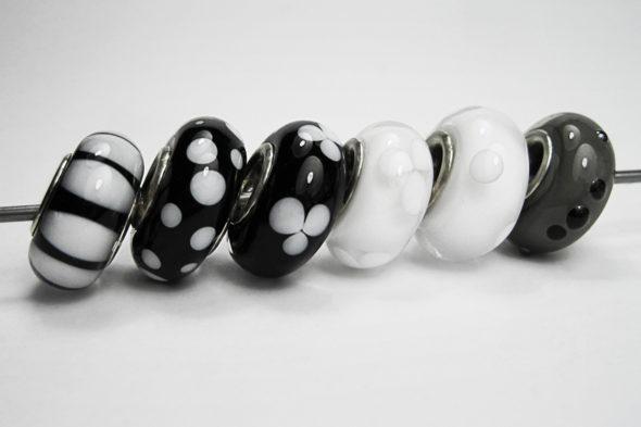 wechsel dich glücklich | Perlen in neutralen Farbtönen