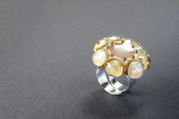 Ring   №220 Gold Blume